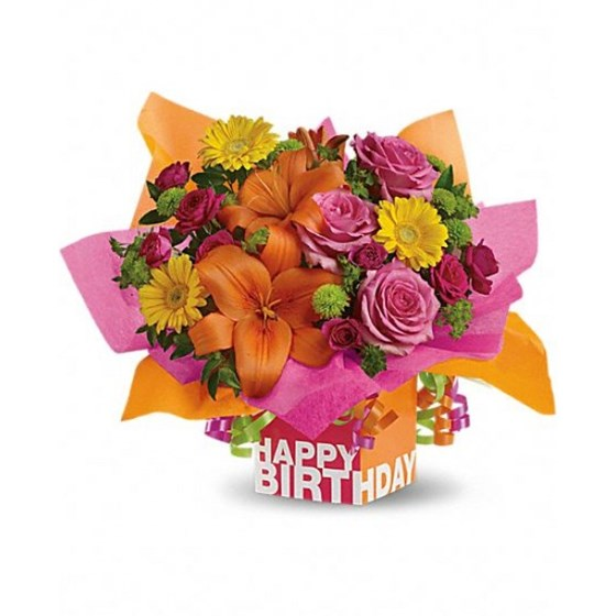 Send Flowers And More: Birthday Flowers
