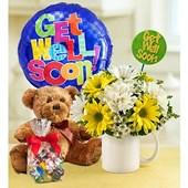 Get Well Flower Bouquet